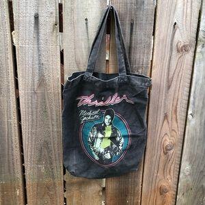 Vintage Micheal Jackson Thriller Tote Bag